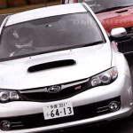 Новая Subaru Impreza WRX STI vs Mitsubishi Lancer Evolution X на извилистом треке