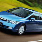 Краш тест седана Honda Civic 2006