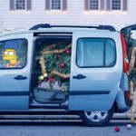 """""""Симпсоны"""" рекламируют новый Renault Kangoo"""