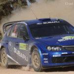 Subaru Impreza WRC2008 дебютировал в Акрополе   Фото и Видео