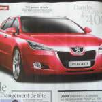 Новый Peugeot 408 2010?