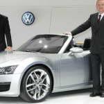 Спортивный родстер Volkswagen BlueSport