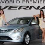 Новый Hyundai Accent (Verna) 2011