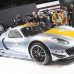Мировая премьера Porsche 918 RSR Coupe Concept | Фото и Видео