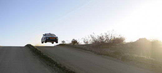 Hyundai Veloster WRC Rally Car ралли