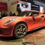 Женева 2011: привлекательный Alfa Romeo 4C Coupe Concept | Фото и Видео