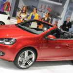 Женева 2011: представлен яркий кабриолет Volkswagen Golf Cabriolet 2011 | Фото и Видео