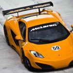 Представлен гоночный McLaren MP4-12C GT3 Racer | Фото и Видео