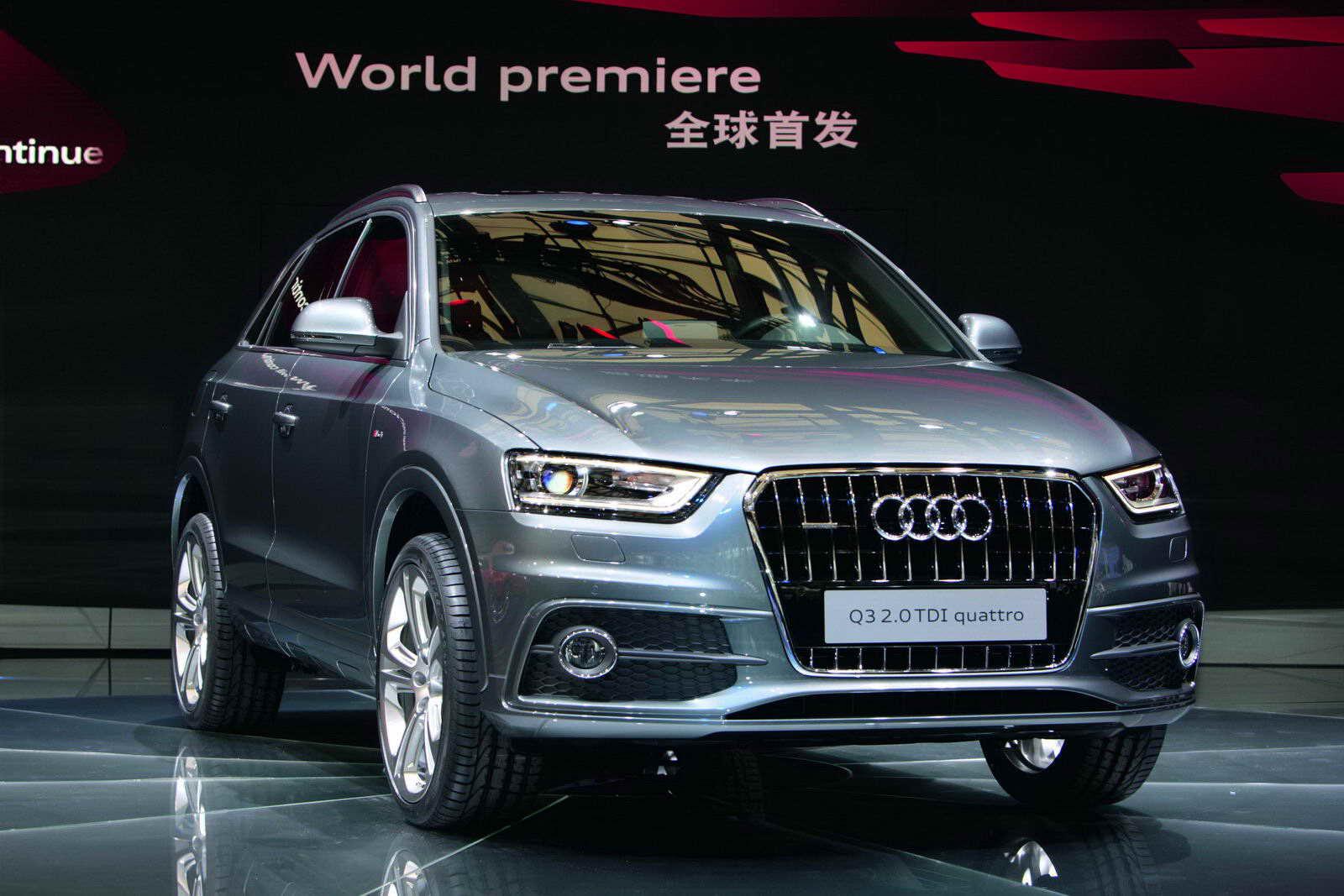 Вместе с фотографиями нового suv q3, были обнародованы и технические характеристики автомобиля