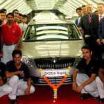 Новый городской седан Skoda Rapid 2012 начали произвдить в Индии | Фото и Видео