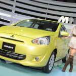 Автосалон в Токио 2011: компактный Mitsubishi Mirage 2012 | Фото и Видео