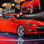 Детройт 2012: Hyundai Genesis Coupe 2013  | Фото и Видео