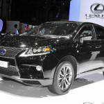 Женева 2012: обновленный кроссовер Lexus RX 2012 | Фото и Видео