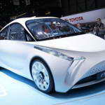 Женева 2012: новый футуристичный гибрид Toyota FT-Bh | Фото и Видео