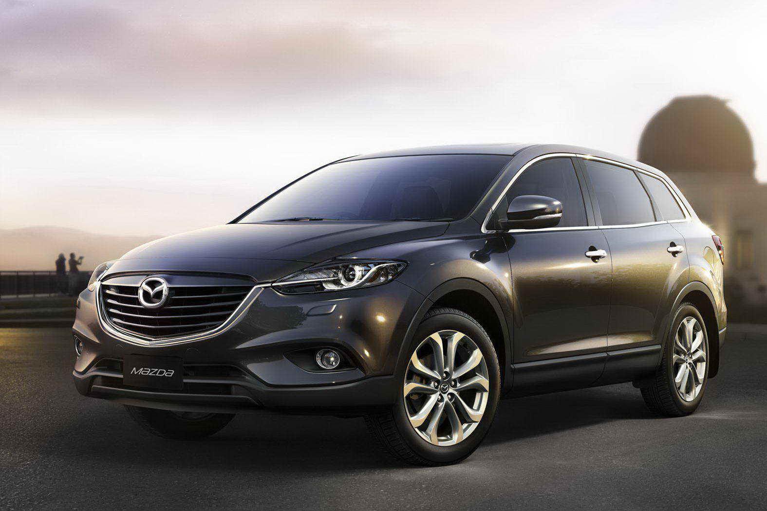 Обновленный кроссовер Mazda CX 9 2013 представят в Париже Фото.