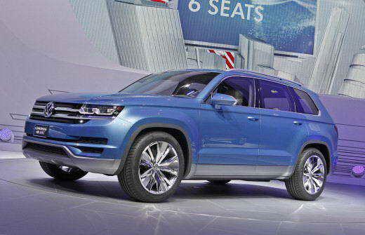 Volkswagen CrossBlue Crossover Concept