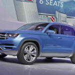 Volkswagen CrossBlue Crossover Concept в Детройте | Фото и Видео