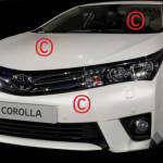 Первые фотографии Toyota Corolla 2014