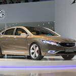 Новый роскошный седан от Geely Group – Emgrand KC