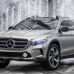 Концепт кроссовера Mercedes-Benz GLA 2014 | Фото и Видео