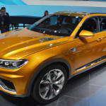 В Шанхае представлен Volkswagen CrossBlue Coupe | Фото и Видео