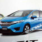 Первые фото Honda Jazz (Fit) 2014