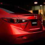 Первая фотография седана Mazda 3 2014