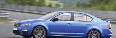 Skoda принимает заказы на заряженную Octavia RS 2013
