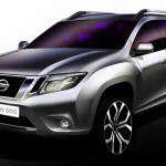 Компания Nissan показал изображение Terrano
