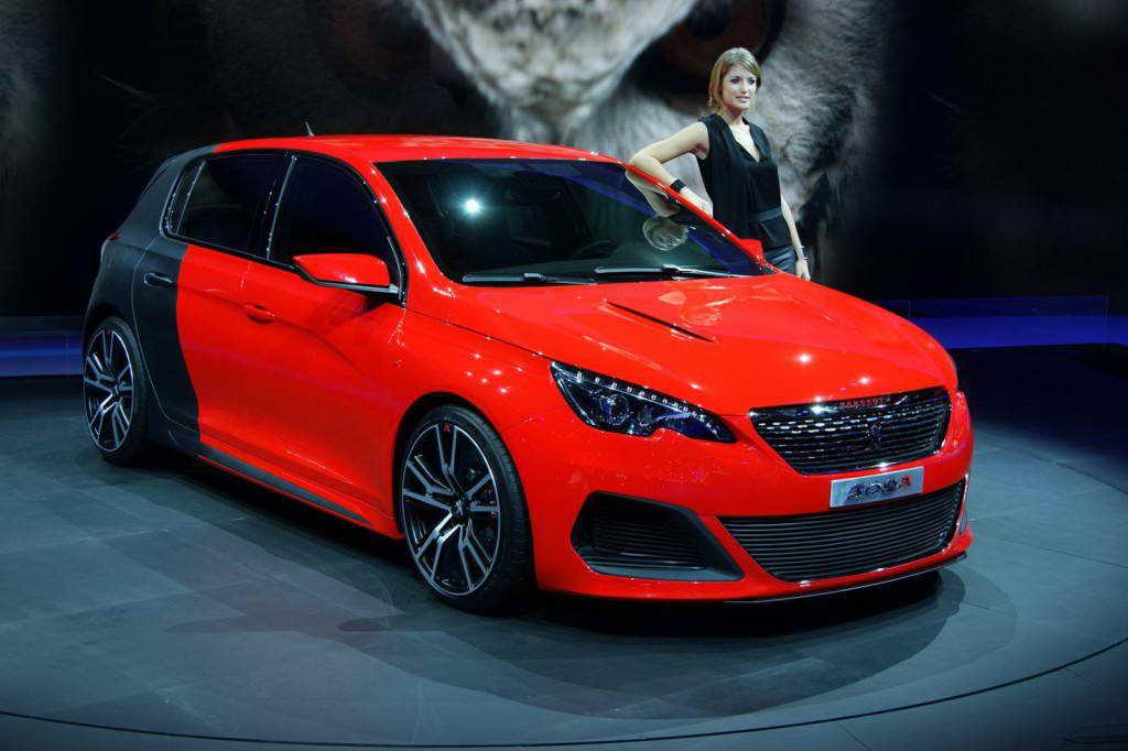 Peugeot 308 R 2014