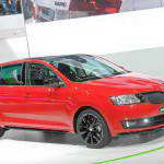 Горячий Skoda Rapid Spaceback 2014 во Франкфурте