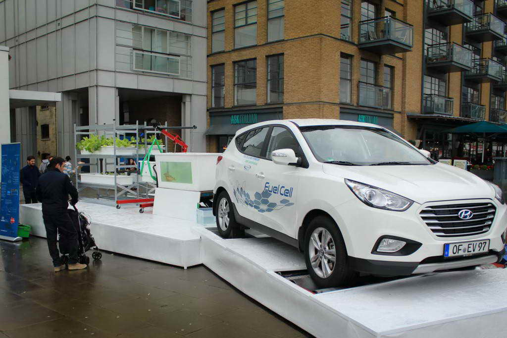 Hyundai ix35 2014 Fuel Cell Farm
