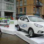 Новый Hyundai ix35 Fuel Cell стал источником воды для биофермы в Лондоне