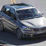 Появились первые фотографии переднеприводной BMW 1-Series GT