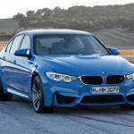 Седан BMW M3 2014 и купе BMW M4 Coupe 2014