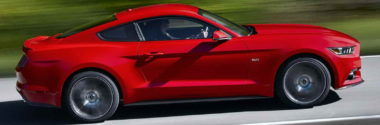 Официально представлен легендарный Ford Mustang 2015