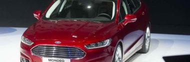 Продажи нового Форд Мондео пятого поколения начнутся в конце года