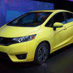 Хонда показала третье поколение компакта Honda Fit 2015