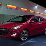 Обновленная модель Hyundai Elantra Coupe 2014 года