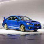 Новый Subaru WRX STI 2015 представлен в Детройте