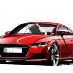 Ауди продемонстрировала дизайн нового Audi TT 2015