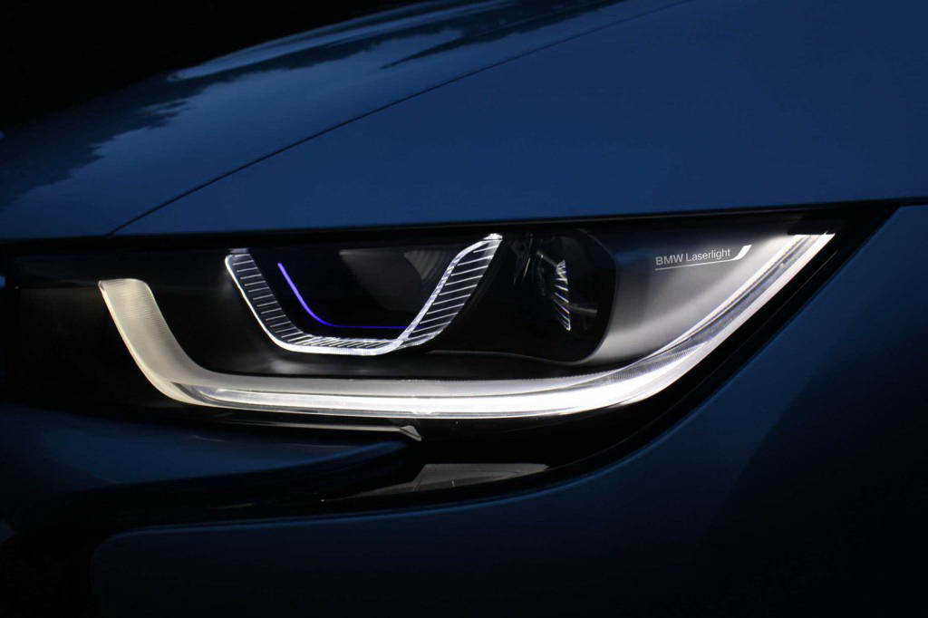 laser headlights bmw