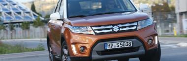 Объявлена дата начала продаж нового Suzuki Vitara 2015