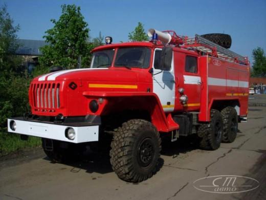 Пожарный УРАЛ
