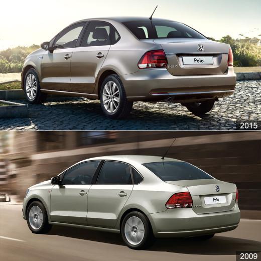 Новый VW Polo седан 2015