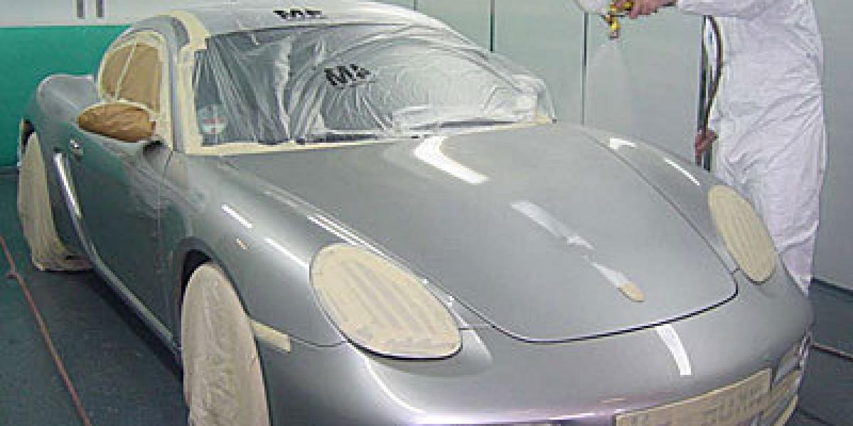 Покраска автомобиля металлик своими руками