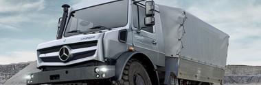 Мерседес Унимог: знакомимся с грузовиком-легендой