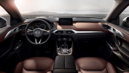Mazda CX-9 2017 салон