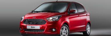 Новый компактный хэтч Ford Ka+ появится в Европе