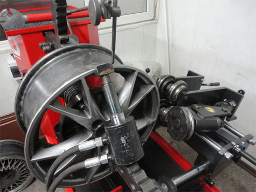 Ремонт дисков колес